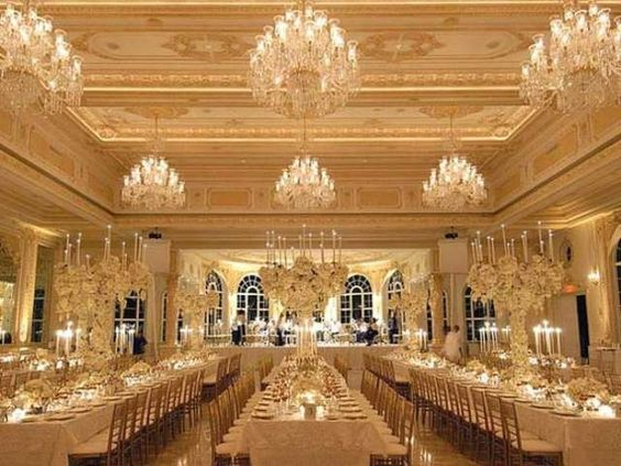 Mara Largo In Palm Beach Banquet Room Donald Trump Home