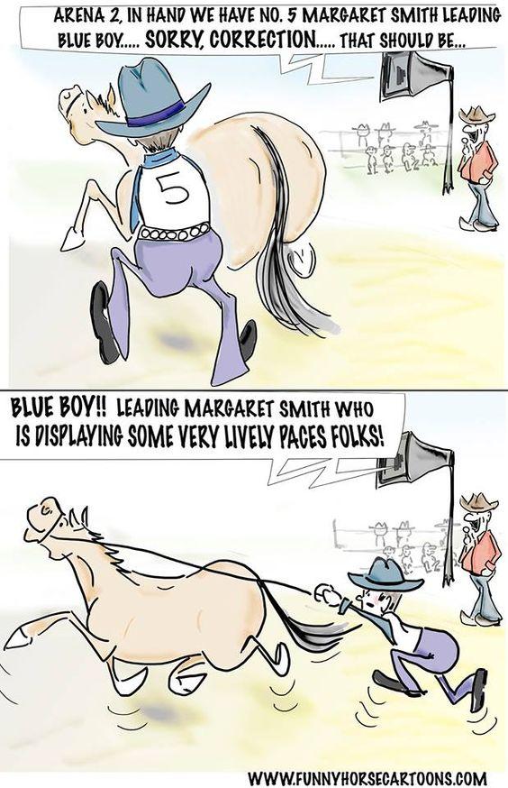 Horse cartoon jokes - photo#14