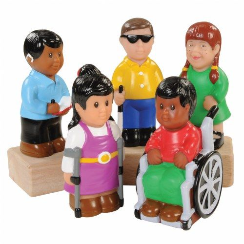 Friends with Special Needs (Set of 5)