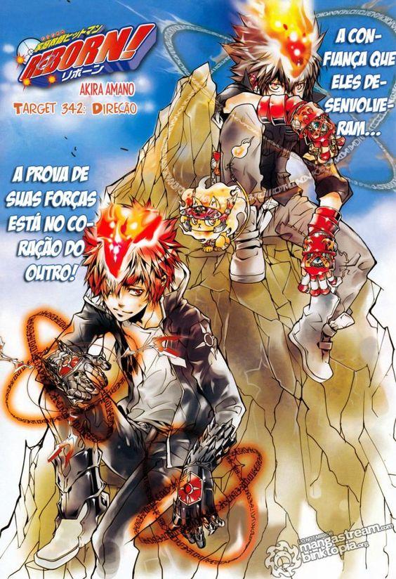 Katekyo Hitman Reborn 342 (Leitura Online) || Central de Mangás - Leitura Online de Mangás em Português