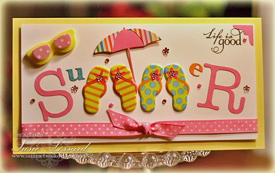 Summer by PaperPunchScissors - Cards and Paper Crafts at Splitcoaststampers
