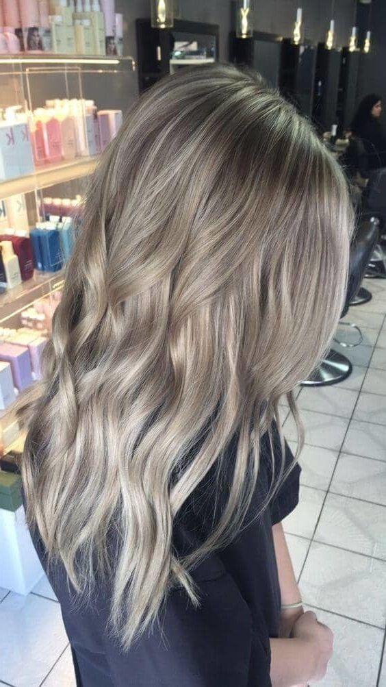 50 Ash Blonde Hair Color Ideas 2019 Couleur Cheveux Blond Idee