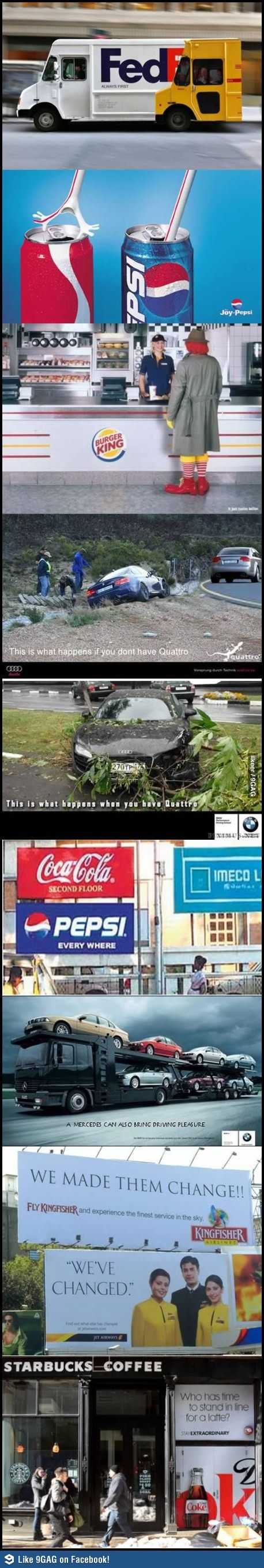 clever AD wars