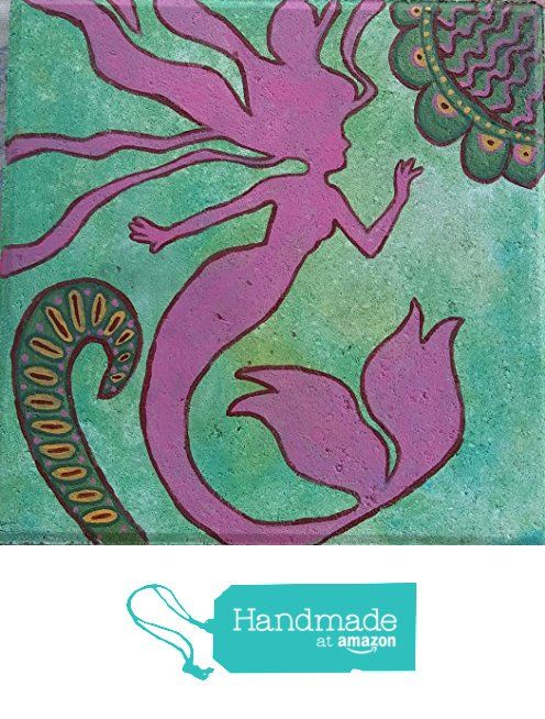 Pink Mermaid from Soul-House Art https://www.amazon.com/dp/B01M1BTGO9/ref=hnd_sw_r_pi_awdo_VTi9xb34BDAXC #handmadeatamazon