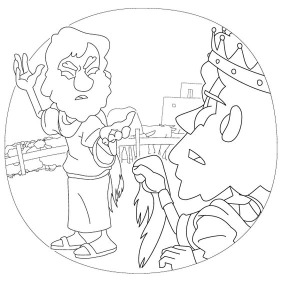1 Samuel 131 14 1418 48 151 35 God Rejected Saul As King Coloring Page