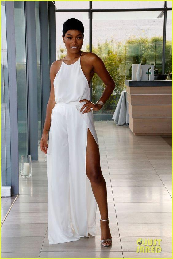 Keke Palmer Wows in White For Glamour's Women in Technology Dinner   keke…
