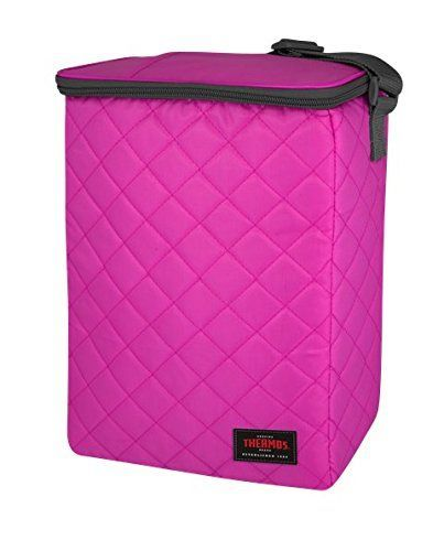 Thermos Quilted 12 Can Cooler Tote Bag Pink -- Be sure to check out - spreadsheet apple