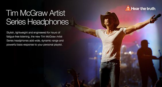 @Tim McGraw launches a line of signature headphones exclusively for #JBL!
