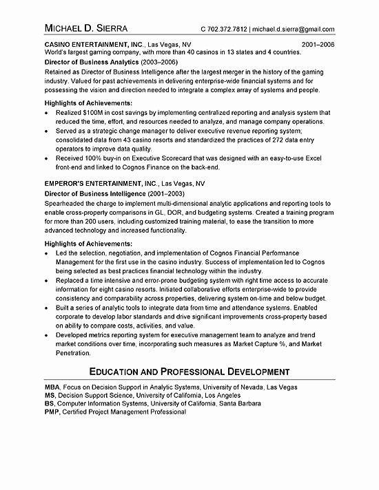 Chief Of Staff Resume Elegant Chief Information Ficer Cio Resume Example Resume Examples Job Resume Samples Security Resume