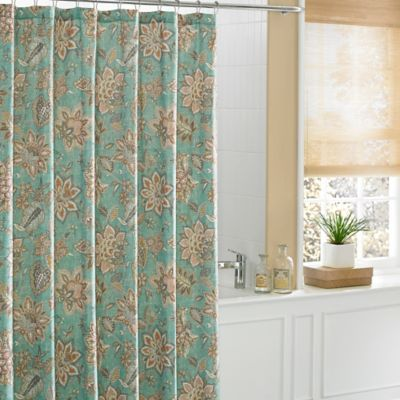 "Curtains Ideas bed bath and beyond bathroom curtains : Buy J.Queen New Yorkâ""¢ Springfield Shower Curtain from Bed Bath ..."