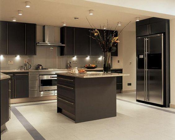 cucina con isola centrale piccola - Cerca con Google   casa ...