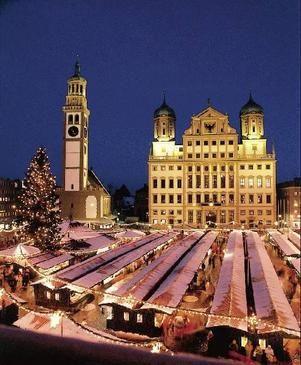 Augsburg at Christmastime
