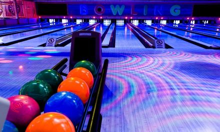 Bowling or Cosmic Bowling with Pizza and Beer for Two or Four at Spin Alley Bowling Center (Up to 55% Off)