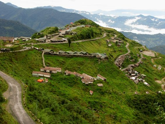 Zuluk is a hamlet in east Sikkim, India, situated at an altitude of 3,000 m close to the Indo China border. Trekking in these areas is popular to tourists and the Old Silk Route passed here.