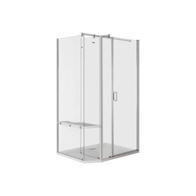 Veo Kompakt Duş Ünitesi 120x090 Sağ, Flat, L Duvar