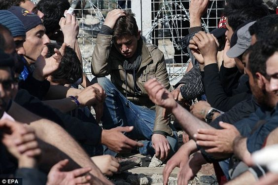 Migrants in Greece are set to be handed envelopes of cash under a £550million EU…