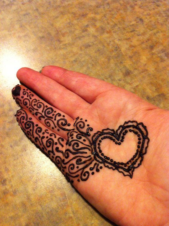 Sunflower Henna Tattoo: Sunflower Design, Design And Sunflowers On Pinterest