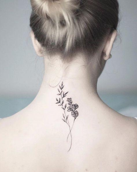 By Anna Botyk Neck Tattoos Women Pretty Tattoos For Women Tattoos For Women