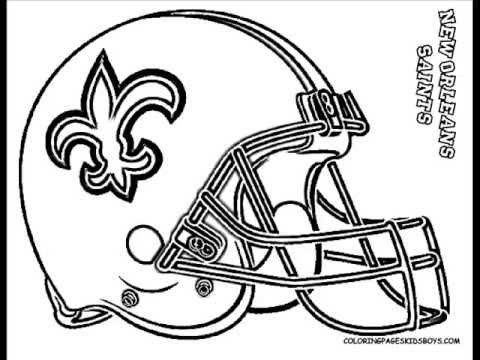 Printable Nfl Coloring Pages Football Coloring Pages Coloring Pages For Boys Coloring Pages