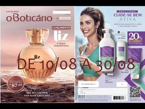 Veja Revista O Boticário Ciclo 12 2020 De 10 08 A 30 08 Lançamento Liz Boticário Revista Lançamentos