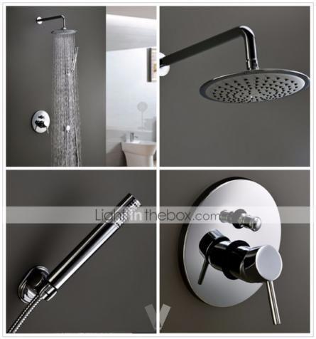 Grifos de lavabo y ducha monomando lat n y cromo en - Grifos de laton ...