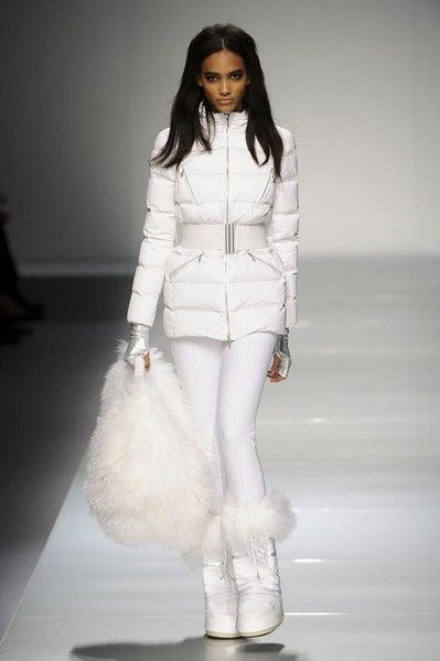 Blumarine. Perfect ski outfit for trips to Aspen, Vail, or the Swiss Alps. ;)