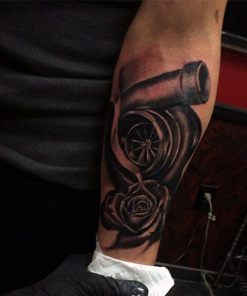 70 Car Tattoos For Men Cool Automotive Design Ideas Tattoos