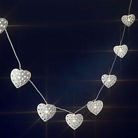String Lights Sainsburys : String lights, Heart and Cream on Pinterest