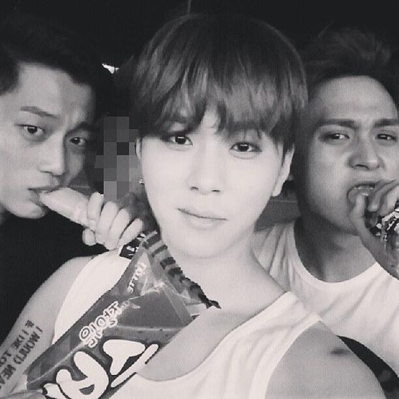 Doojoon, Junhyung, and Dongwoon. I love you so much Junhyung<3