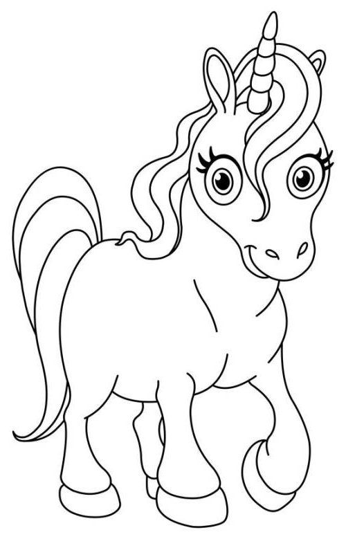 Ausmalbilder Einhorn Kostenlos Unicorn Einhorn Kostenlose Ausmalbilder Einhorn Zum Ausmalen Niedliches Einhorn