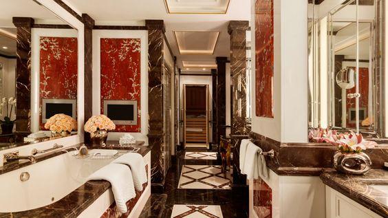 Royal Suite Bathroom Hotel Adlon Kempinski Berlin The finest - esszimmer berlin