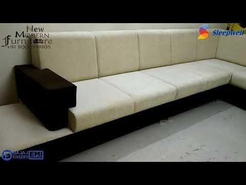 Sleepwell Sofa Corner Sofa Set Furniture Manufacturer Vadodara Bajaj Finance Available 8000999105 Youtube Corner Sofa Set Sofa Corner Sofa