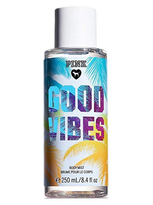 Victoria S Secret Pink Good Vibes Body Mist Body Mist Bath And Body Works Perfume Victoria Secret Body Spray