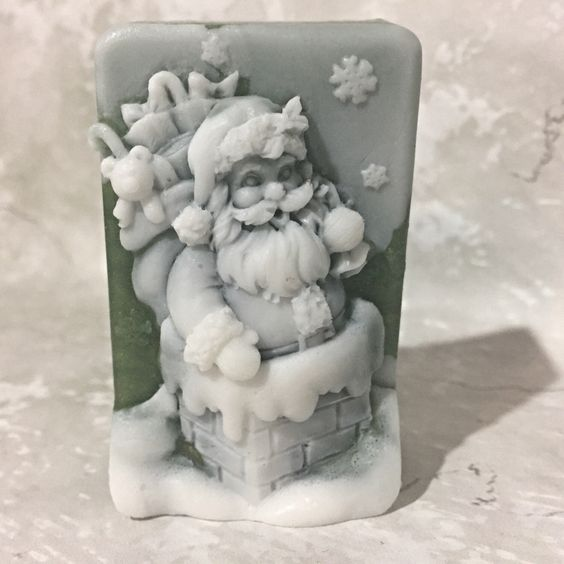 A personal favorite from my Etsy shop https://www.etsy.com/listing/476104488/christmas-soap-glycerin-soap-coworker
