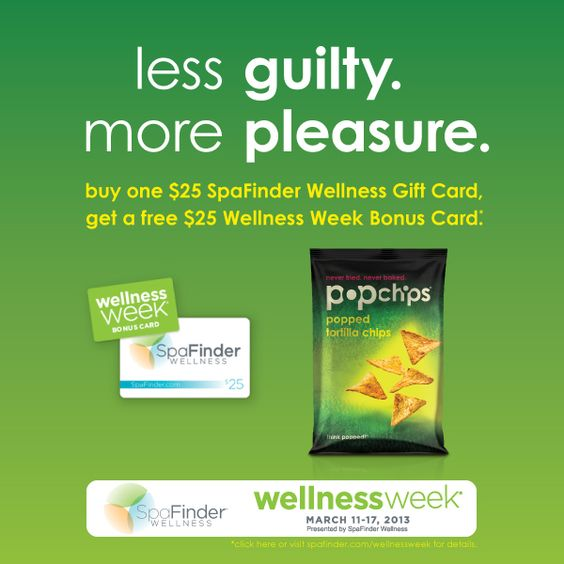 snack, pamper and save? #spafinder #wellnessweek for the win!