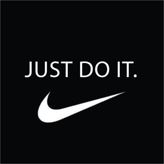 Taglines: Just do them. Right.