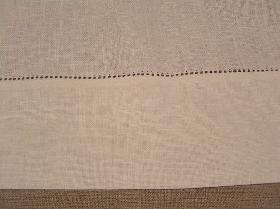 """LINEN BATH SHEET White w/3"""" Hemst Hems 40 x 65""""  RUSSIA HOUSE COLLECTION  #RUSSIAHOUSECOLLECTION"""