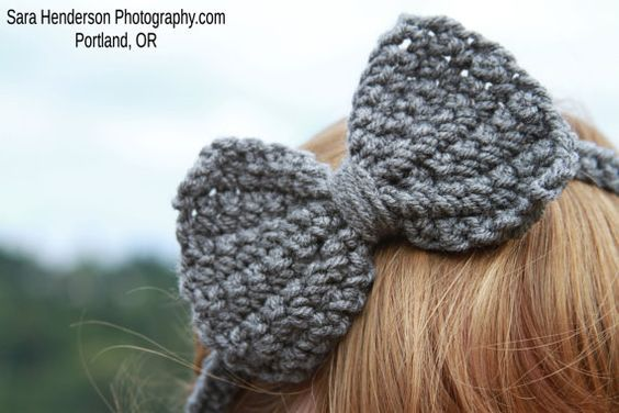 it out crochet headbands ideas bows bow headbands how to crochet ...