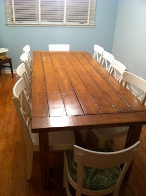 Colonial Pine With Satin Polycrylic Table Ideas
