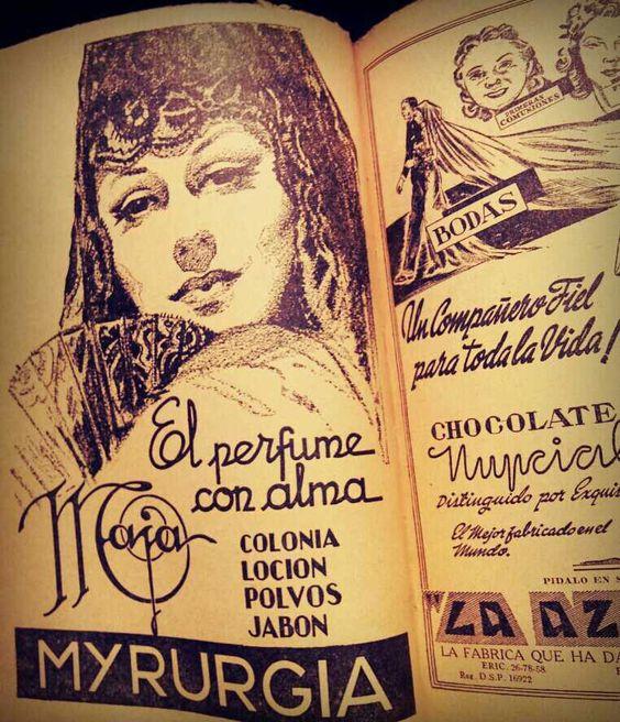 ¡Maja! ¿Qué tal está publicidad de la revista literaria «El Hijo Pródigo» de 1944?