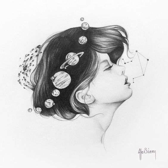 Materia Cosmica by alejandra saenz