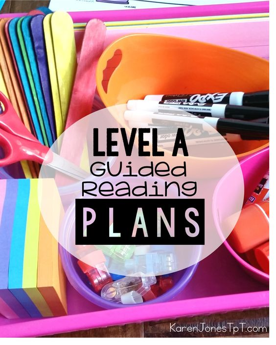 Guided Reading LEVEL A: Made easy! Student activities and teacher tools specifically for Level A.: