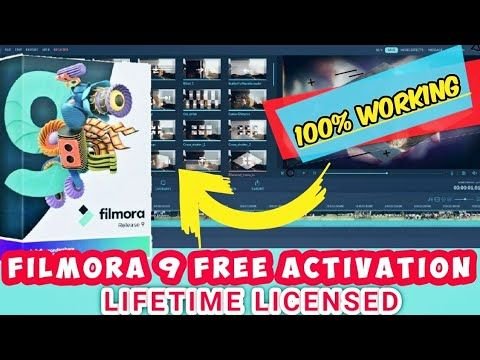 Pin On How To Activate Filmora 9 Lifetime Free Activation