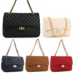 BIG NWT LADIES HANDBAG Big Quilting Bag shoulder bag
