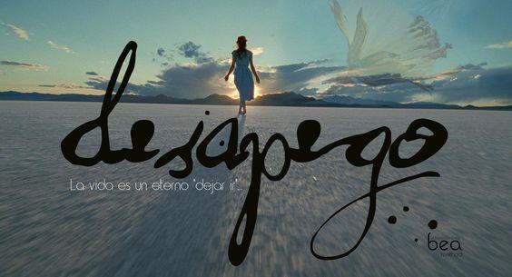 """La vida es un eterno """"dejar ir""""... Solamente con las manos vacías podrás agarrar algo nuevo."""