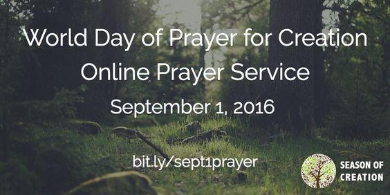 Special Invitation: Sept 1 Online Prayer Service