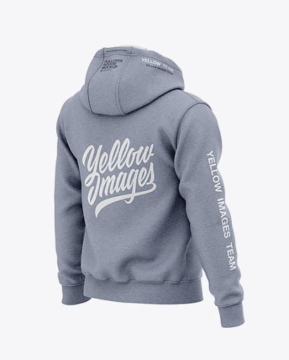 Download Mens Heather Pullover Hoodie Back Half Side View Jersey Mockup Psd File 164 28 Mb Clothing Mockup Design Mockup Free Hoodie Mockup