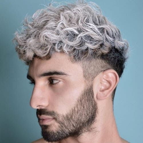50 Undercut With Curly Hair Styles For Men To Look Bold Hairstyles For Men With Thick Curly Hair In 2019 35 Of O Wavy Hair Men Mens Hair Colour Men Hair Color