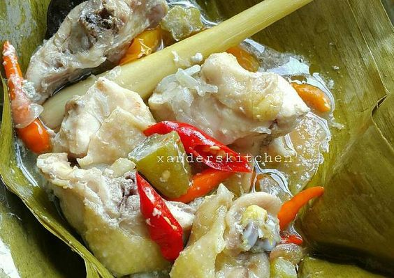 Resep Garang Asem Ayam Kampung Pr Masakanbungkusdaun Oleh Xander S Kitchen Resep Resep Resep Masakan Makanan Dan Minuman