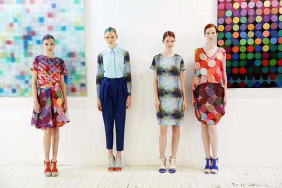 Gary Bigeni Spring Summer 13/14 Print Collaboration with Melbourne Artist Matthew Johnson